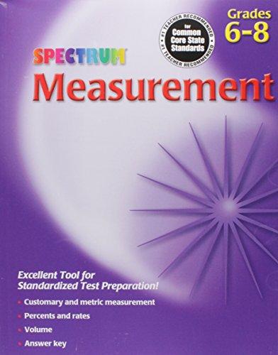 Measurement, Grades 6 - 8 (Spectrum)