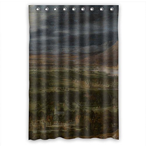 Price comparison product image MaSoyy The Art Painting Toegeschreven Aan Peeter Gijsels (naar Jan Brueghel I) - Landscape Shower Curtains Of Polyester Width X Height / 48 X 72 Inches / W H 120 By 180 Cm Decoration Gif