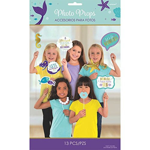 Little Mermaid Wishes Photo Props 13ct [Contains 2 Manufacturer Retail Unit(s) Per Amazon Combined Package Sales Unit] - SKU# 3900137]()