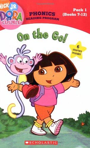 On The Go! (Books 7 - 12) (Dora the Explorer Phonics Reading Program, Pack 1)