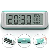 "Alarm Clock , Awakelion 5.5"" Large Digital Alarm Clock with Backlight ,2 Alarms, Snooze, Optional Weekday Alarm , Rotate Button Easy Setting for Kids and Teens"