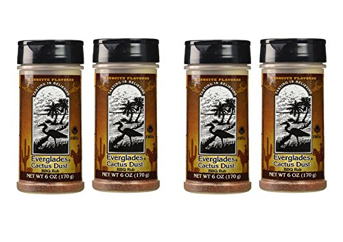 4 Pack Everglades Seasoning Cactus Mesquite BBQ 6oz Bottles