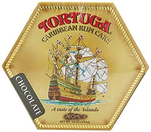 TORTUGA Caribbean Chocolate Rum Cake – 16 oz  The Perfect Premium Gourmet Gift