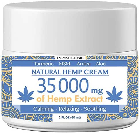 PLANTGENIC Organic Hemp Pain Relief Extract 35 000 Mg, Made in USA, Non-GMO, Natural Hemp Oil for Joint Pain