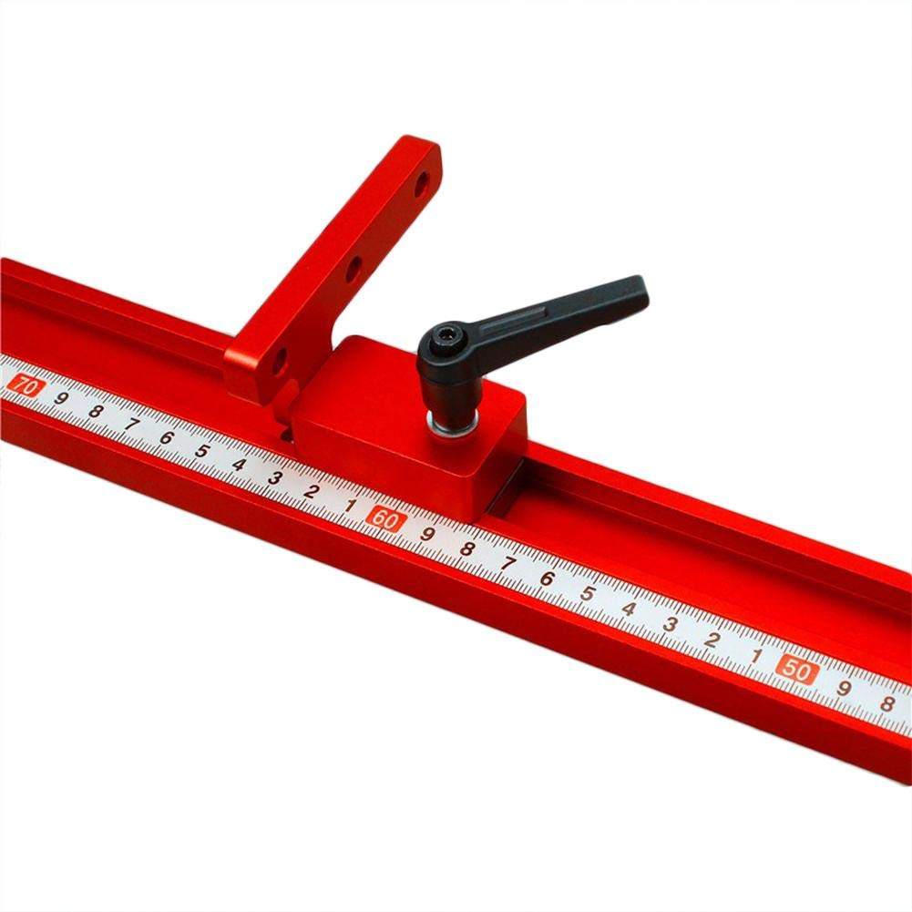 Arresto per binario obliquo durevole Premium 30mm T-track Utensili manuali per la lavorazione del legno