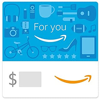 Amazon eGift Card - For you (Blue Icons) (B01N1P24A4) | Amazon price tracker / tracking, Amazon price history charts, Amazon price watches, Amazon price drop alerts