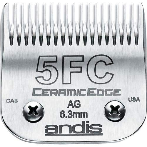 Andis CeramicEdge Carbon-Infused Steel 5Fc 1/4 (6.3mm)