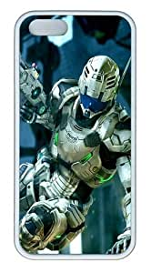 3D Robot PC Silicone Hard Case For Sumsung Galaxy S4 I9500 Cover Case CovWhite
