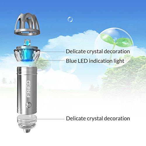 Car Air Purifier : Frieq car air purifier freshener and ionic