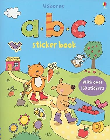 ABC Sticker Book (Sticker (Abc Sticker Book)