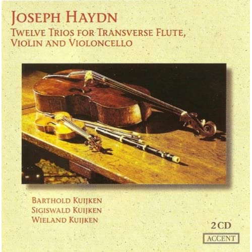 Baryton Trio No. 118 in D Major, Hob.XI:118 (arr. for flute trio): II. Menuetto - Allegretto
