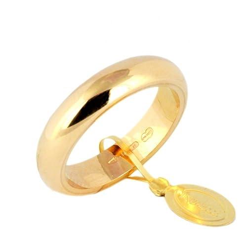 Alianza plana Unoaerre clásica de oro amarillo 18kt 10 gramos ...