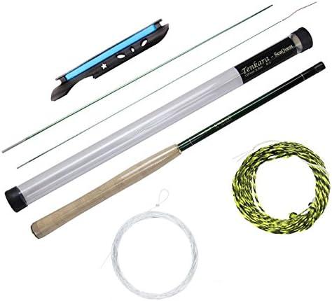 Seaquest Tenkara Rod 12FT Carbon Fiber Tenkara Rod Tenkara Line Tenkara Line Winder tenkara Mix