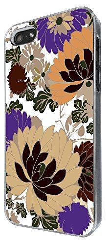 890 - Shabby Chic Floral Roses Fun Design iphone 4 4S Coque Fashion Trend Case Coque Protection Cover plastique et métal