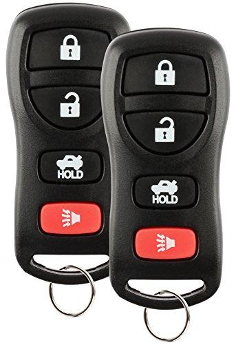 Descuento Keyless Control remoto de llave de automóvil para Nissan Infiniti KBRASTU15, CWTWB1U733, Juego de 2
