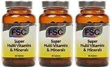 (3er BUNDLE) | FSC Super Multi Vitamins & Mineral 60 tablet | 60 tablet - FSC