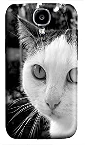Samsung S4 case case mate Curious Kitten 2 Animal 3D cover custom Samsung S4