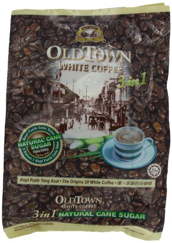OLD City 3 IN 1 Natural Cane Sugar White Coffee, 19 Ounce