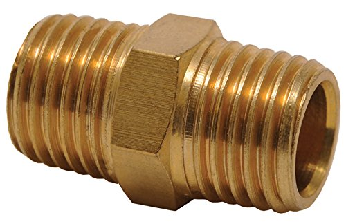 Hot Max 28093 1/4-Inch Male NPT x 1/4-Inch Male NPT Hose Coupling (Male 1/4 Coupling)