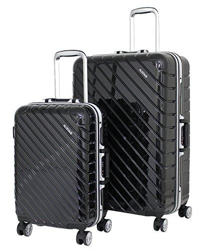 """Juego de 2 maletas de cabina y Alistair Grande """"infinito"""" – ABS ultra ligero – 4 ruedas"""