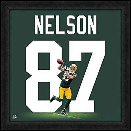 new photos 14d8d fef8a Amazon.com: Green Bay Packers Jordy Nelson #87 Players ...