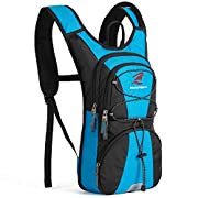 SHARKMOUTH Hydration Backpack FLYHIKER Hiking Pack with 2.5L Water Bladder