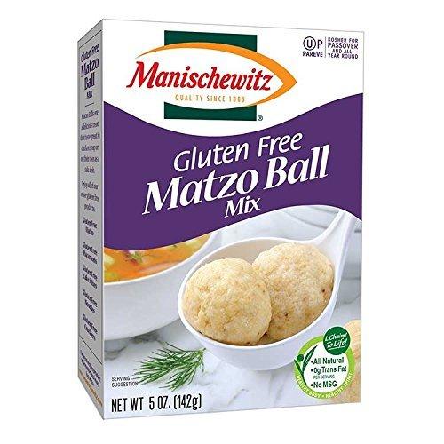 Manischewitz Mix Matzo Ball Gluten Fre - 5 Ounce (Pack of 6)