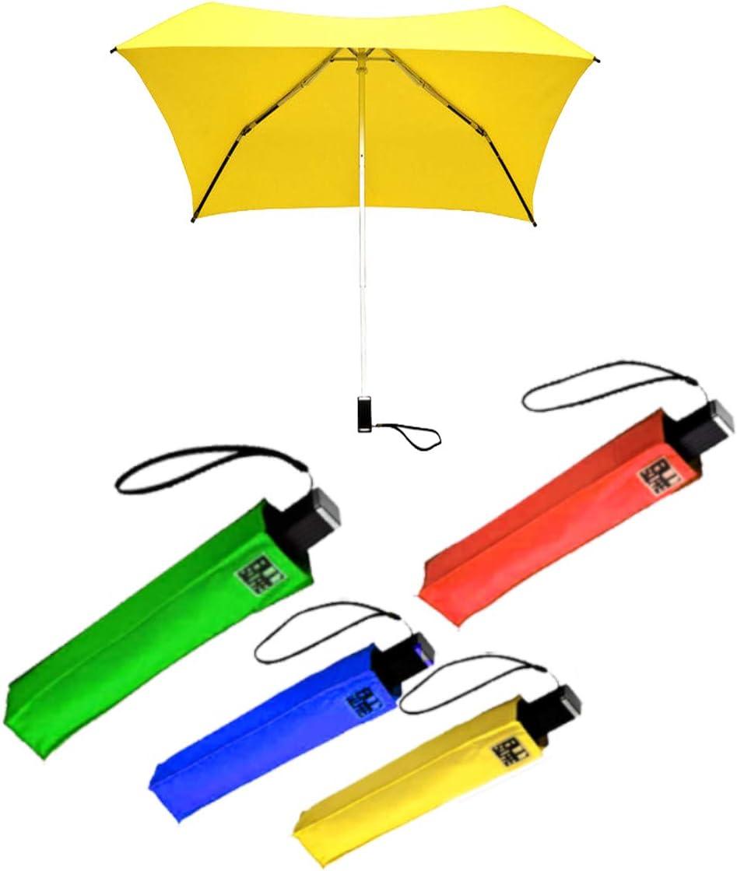 Impliva Ladies Square Folding Windproof,Xtra Strong Auto Open//Close Umbrella 4 Colors