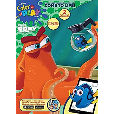 Bendon Finding Dory Color & Play Ultimate Activity Book with Stickers: Toys & Games
