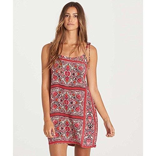 Billabong Women's Night Out Dress, Sangria, M