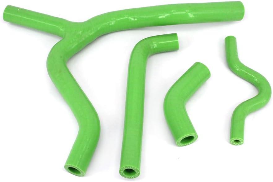 Fast Pro Kit de mangueras de silicona para radiador Suzuki RM125 RM 125 01 color amarillo 08 Dirt Bike