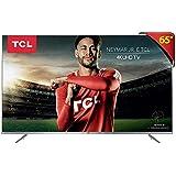 "Smart TV LED 65"" Ultra HD 4K HDR com Wifi integrado 3 HDMI 2 USB, TCL, 65P6US, Prata"
