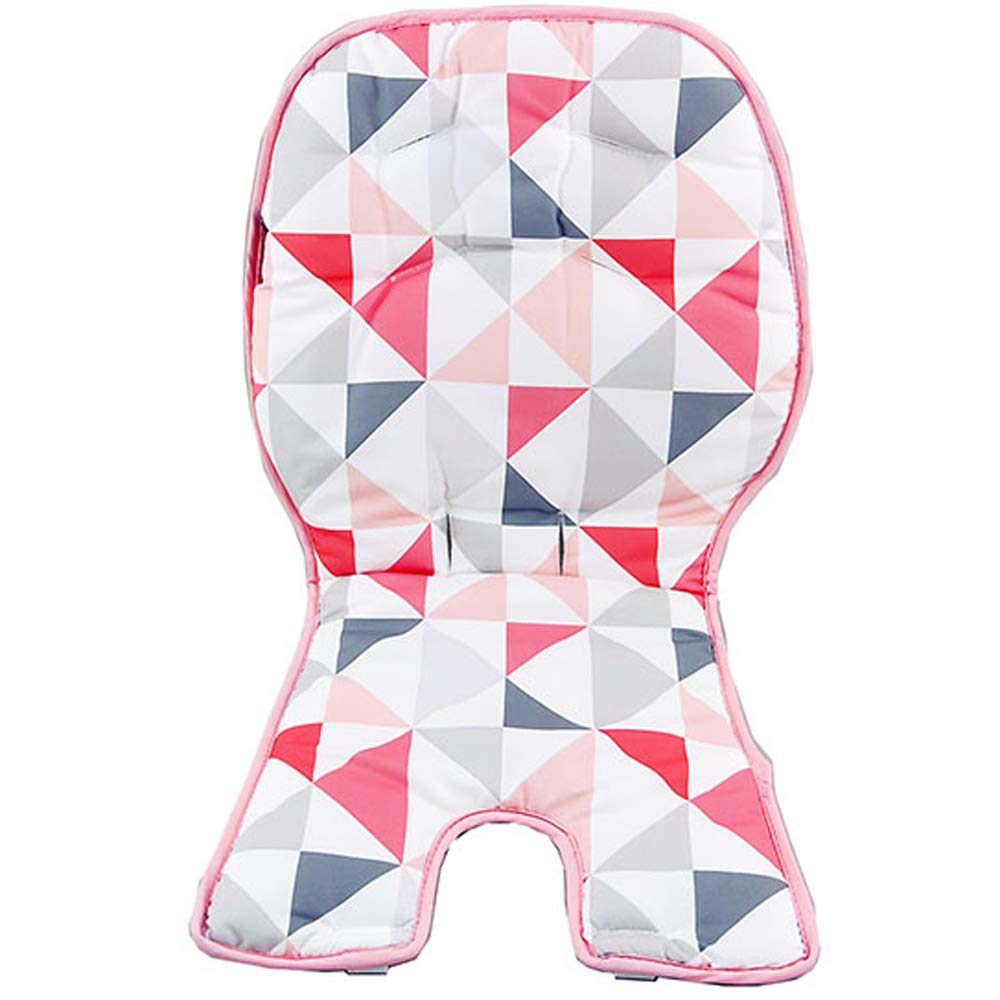 Replacement Cover for SpaceSaver Highchair - Fisher-Price Space Saver High Chair Rosy Windmill FLG98 ~ Replacement Pad ~ Pinks, Rose, White and Gray