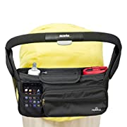 Stroller Organizer Bag And Organizer – Large Capacity - Premium Baby Stroller Bags Fits All Types of Strollers - Comes w/Smartphone & Dual Bottle Holder - Great Durability & Design