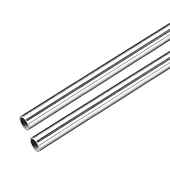 304 Stainless Steel Capillary Tube OD 4mm x 3mm ID Length 250mm Metal ^F