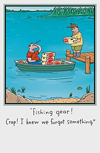Amazon Funny Fishing Gear Happy Birthday New Uk Greetings