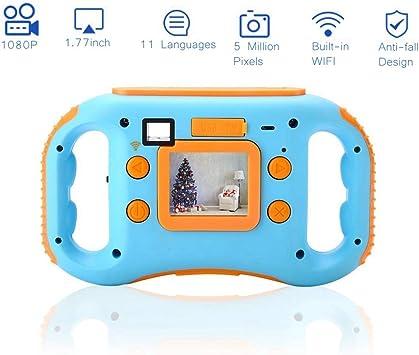 Fosa Cámara de vídeo Digital para niños, WiFi, 1.77 Pulgadas, Mini ...