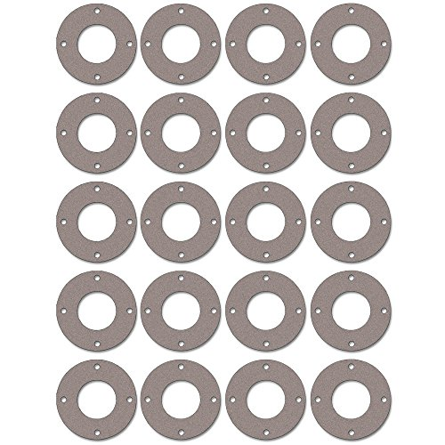 Pressure Class 300# 1//8 Thick Pack of 20 8 Pipe Size Sterling Seal CFF7540.800.125.300X20 7540 Vegetable Fiber Full Face Gasket 8.62 ID