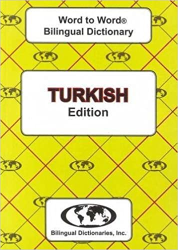 English-Turkish & Turkish-English Word-to-Word Dictionary (suitable for exams) by Sesma C. (2012-12-31)