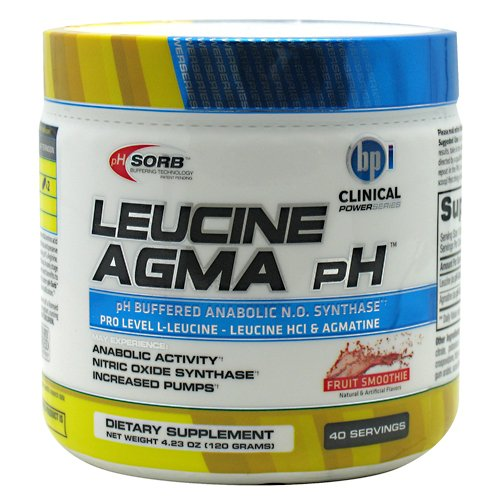 BPI leucine AGMA pH Fruit Smoothie 40 portions