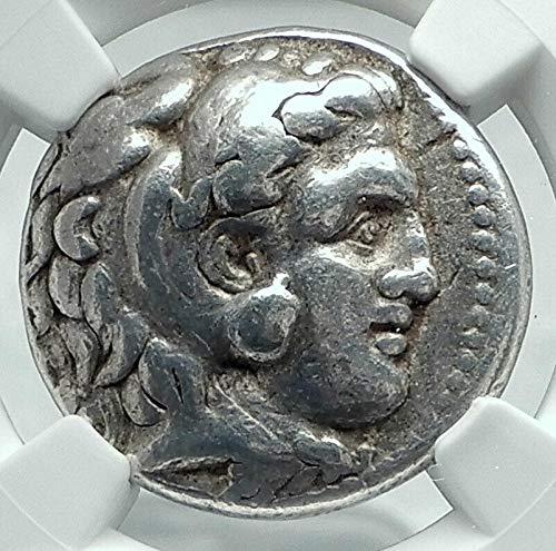 Ancient Greek Silver Tetradrachm Coin - 1000 GR ALEXANDER III the Great AR TETRADRACHM of SELEUKO Tetradrachm F NGC