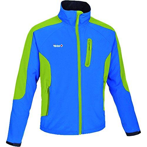 MultiCouleure (bleu royal   vert claro) XXL IZAS Loire Veste Softshell pour Homme
