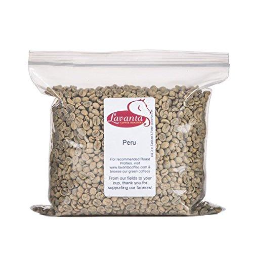 Lavanta Coffee Roasters Peru Direct Trade, Green, 2 lb