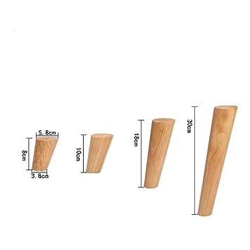 Lqjjt Möbelbeine Möbelfüße Massivholz Sofafüße Erhöhen Die Neigung