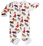 Elowel Baby Boys Footed Fleece Sleeper Pajamas (Size 6M-5Years)