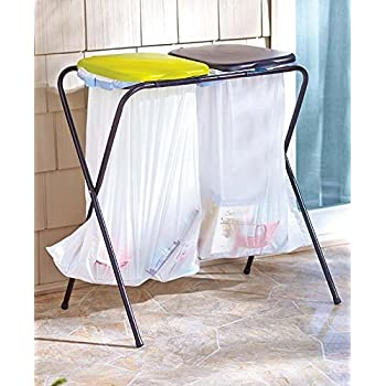 outdoor trash can and a portable trash can that 39 s great for camping and tailgating. Black Bedroom Furniture Sets. Home Design Ideas