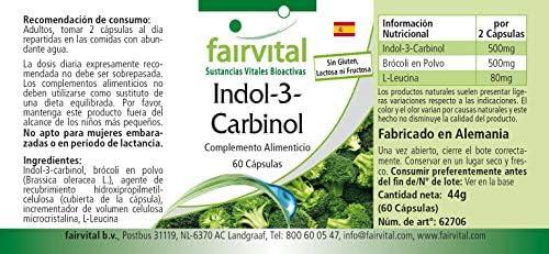Indol-3-Carbinol - VEGANO - I3C + Brócoli en polvo - Dosis elevada ...