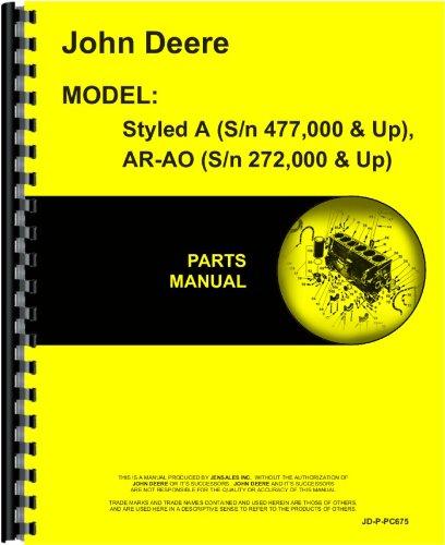 John Deere Tractor Parts Manual (JD-P-PC675) John Deere Parts Books