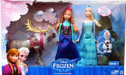 Disney Frozen Exclusive Friends Collection