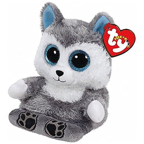 Ty Beanie Boos Peek A Boos Scout The Husky Dog Cell Phone Holder (Ty Stuffed Husky)